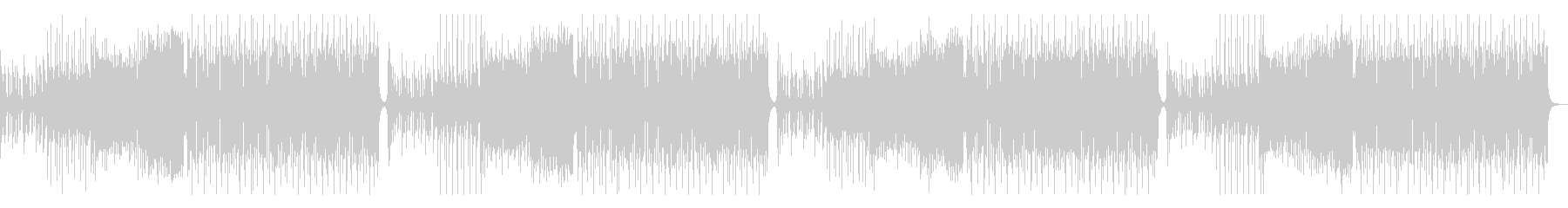 ポップで明るいFuture Bassの未再生の波形