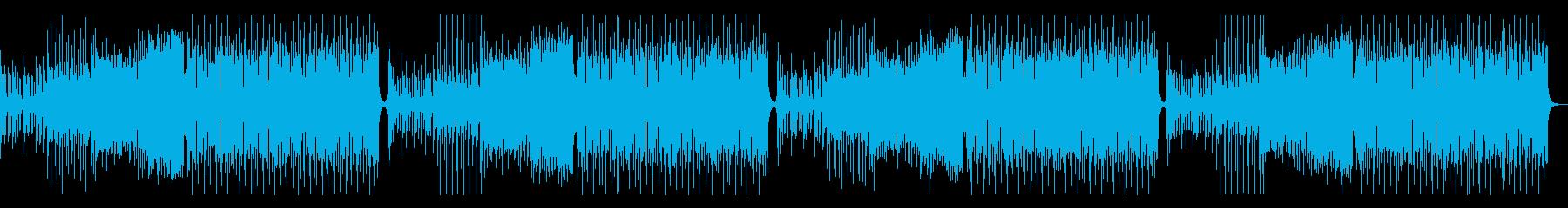 ポップで明るいFuture Bassの再生済みの波形