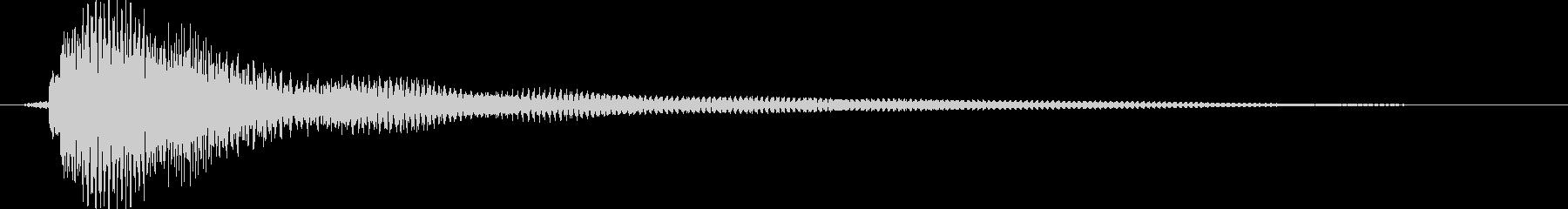 素材 ナイロンギターコードフルメジ...の未再生の波形