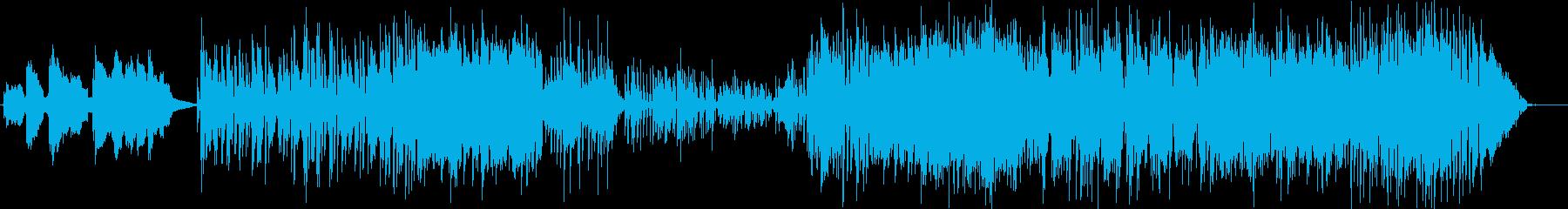 ジャズ。イントロサックスベースとリ...の再生済みの波形