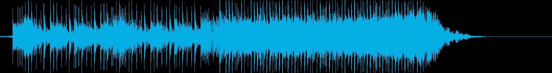 デジタル、緊迫、疾走感、追跡、Funkの再生済みの波形