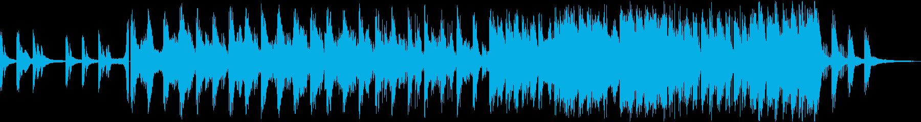孤独感のある曲の再生済みの波形