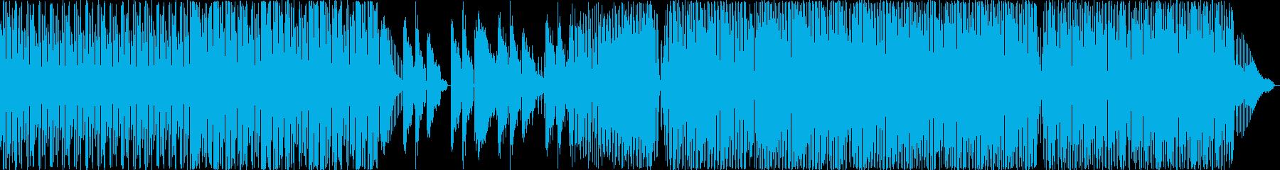 イントロ電子打楽器。音と雰囲気の連...の再生済みの波形