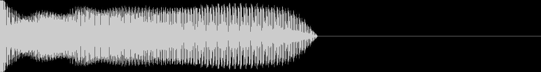 なんか出てくる音 ロボット編の未再生の波形