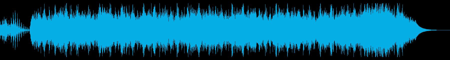 アブストラクトなダークアンビエントの再生済みの波形