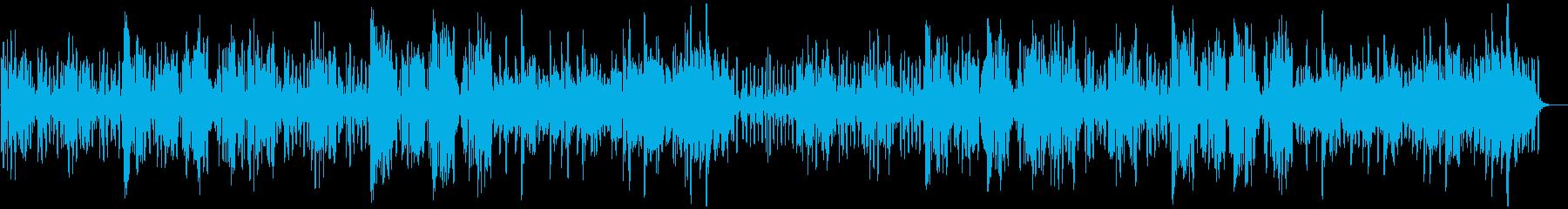 リコーダーの元気で可愛い曲3_ロングの再生済みの波形