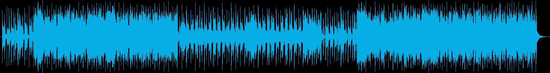 ピコピコした感じの曲の再生済みの波形