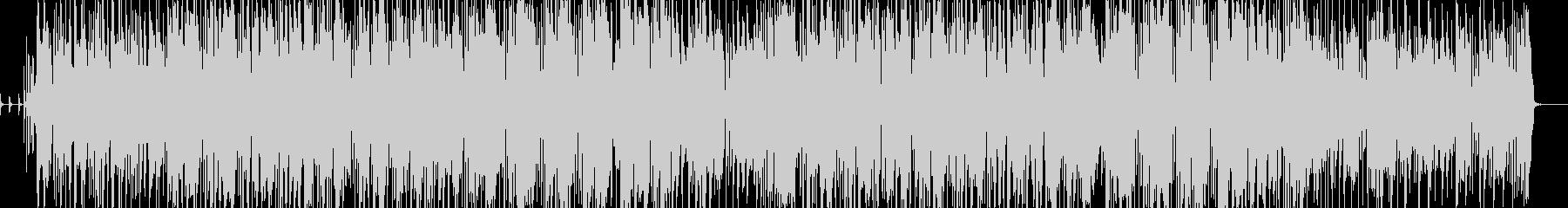 ワンルームミュージシャンの歌の未再生の波形