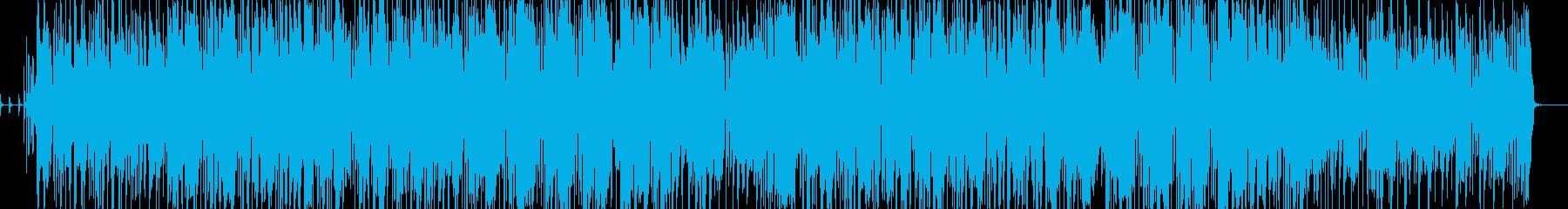 ワンルームミュージシャンの歌の再生済みの波形