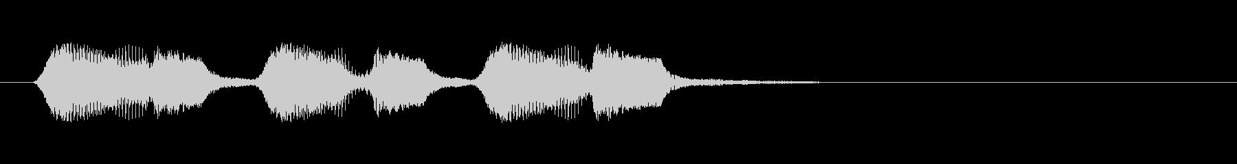 コント ズッコケ効果音 フワフワ場面転換の未再生の波形