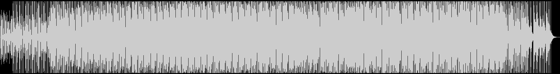 チルな雰囲気のエレクトロの未再生の波形