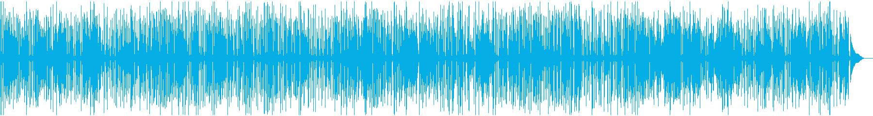 YouTube、カフェ、ジャズピアノの再生済みの波形