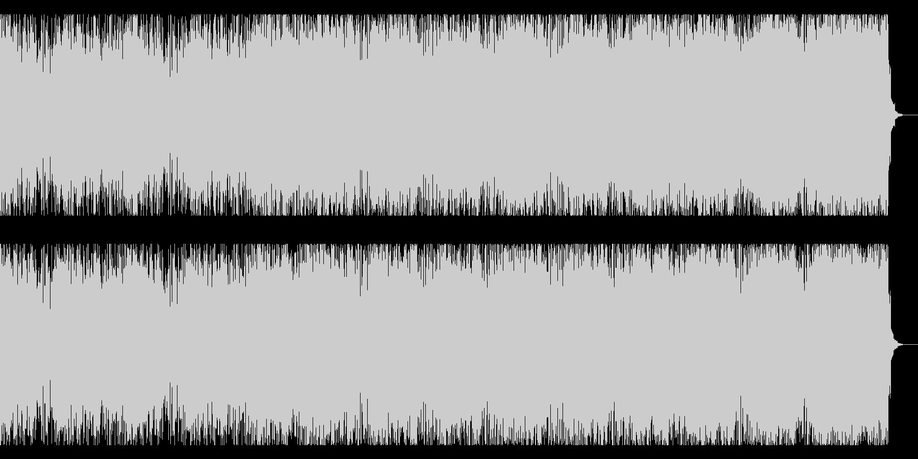 ダークなギターインストの未再生の波形