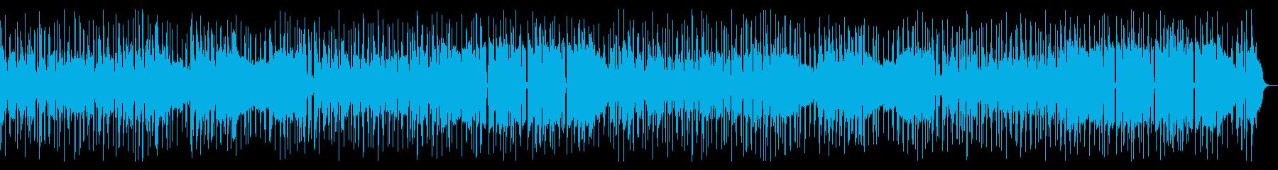 スタイリッシュなファンキーR&Bの再生済みの波形