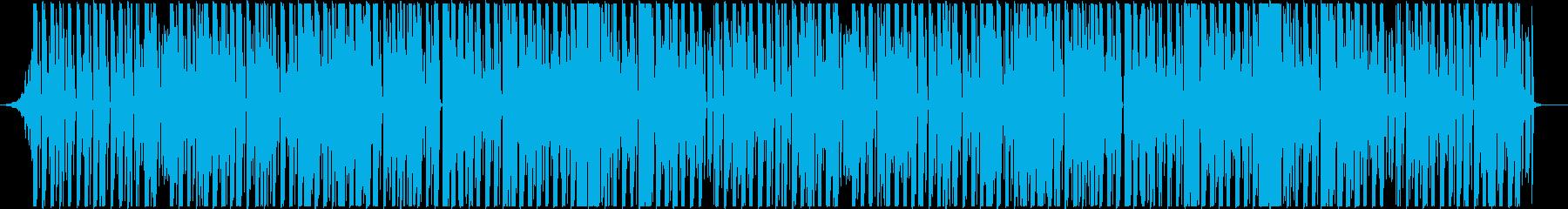 無機質なビートと物憂げなボーカル、クールの再生済みの波形