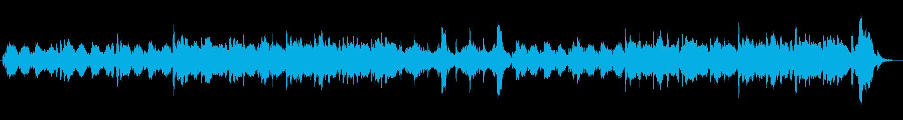 オーケストラで静まり返った洞窟をイメージの再生済みの波形