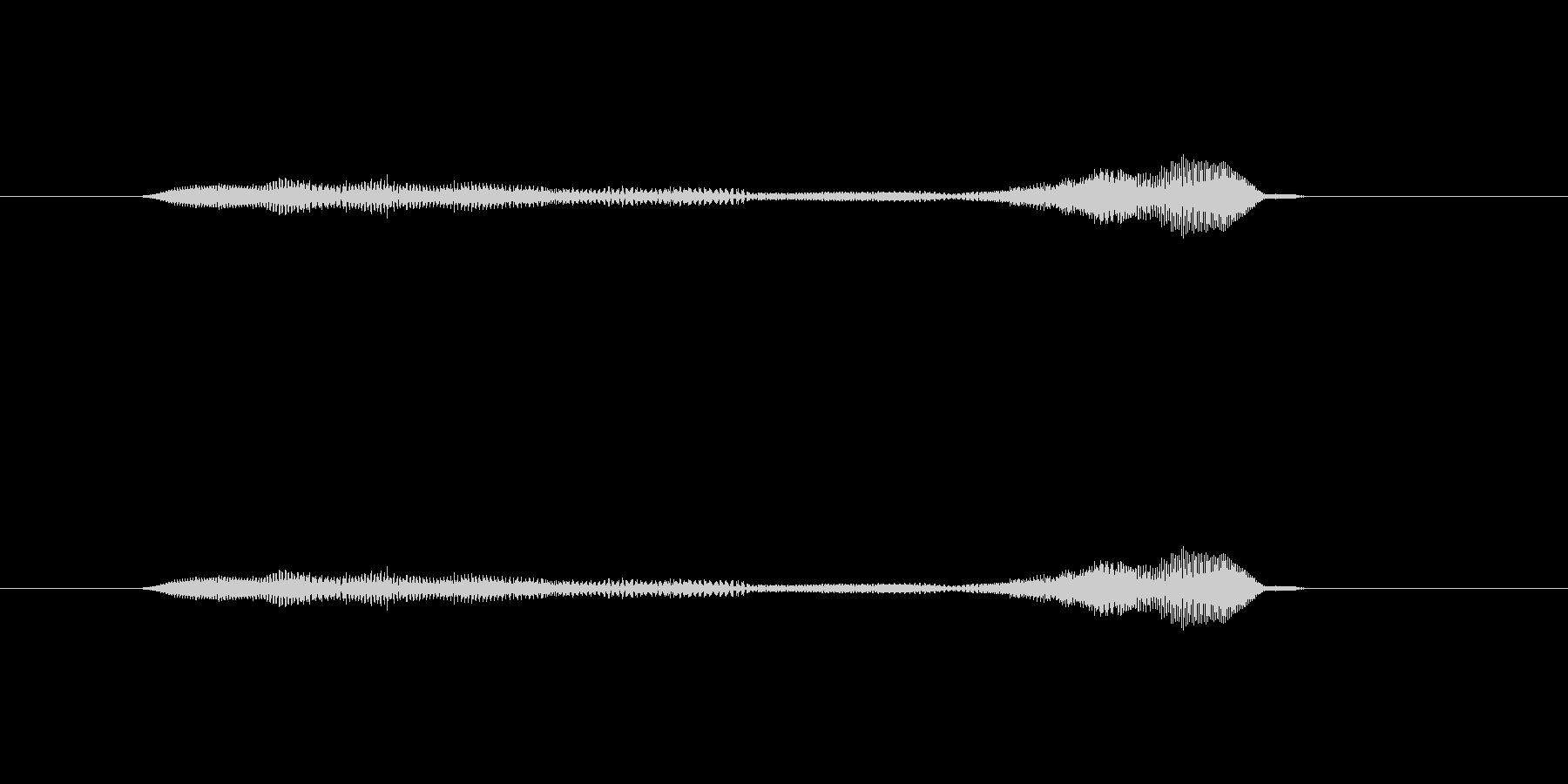 ニャー_猫声-33の未再生の波形