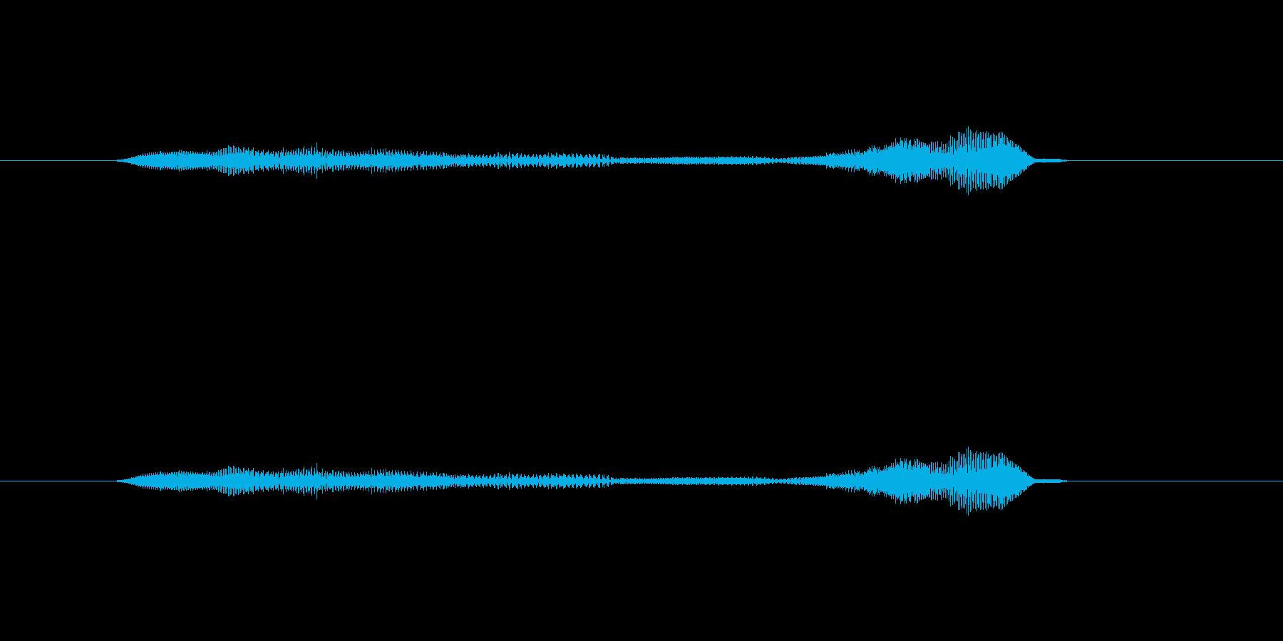 ニャー_猫声-33の再生済みの波形