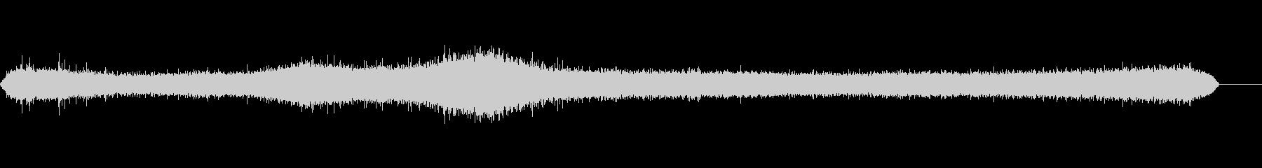 強風-森の中の未再生の波形