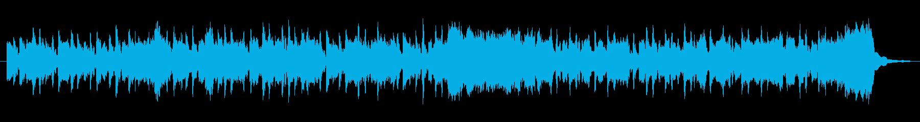 ほのぼのしたファンタジーワルツの再生済みの波形