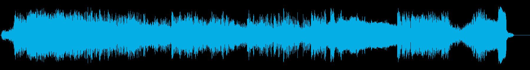 ポットショットの再生済みの波形