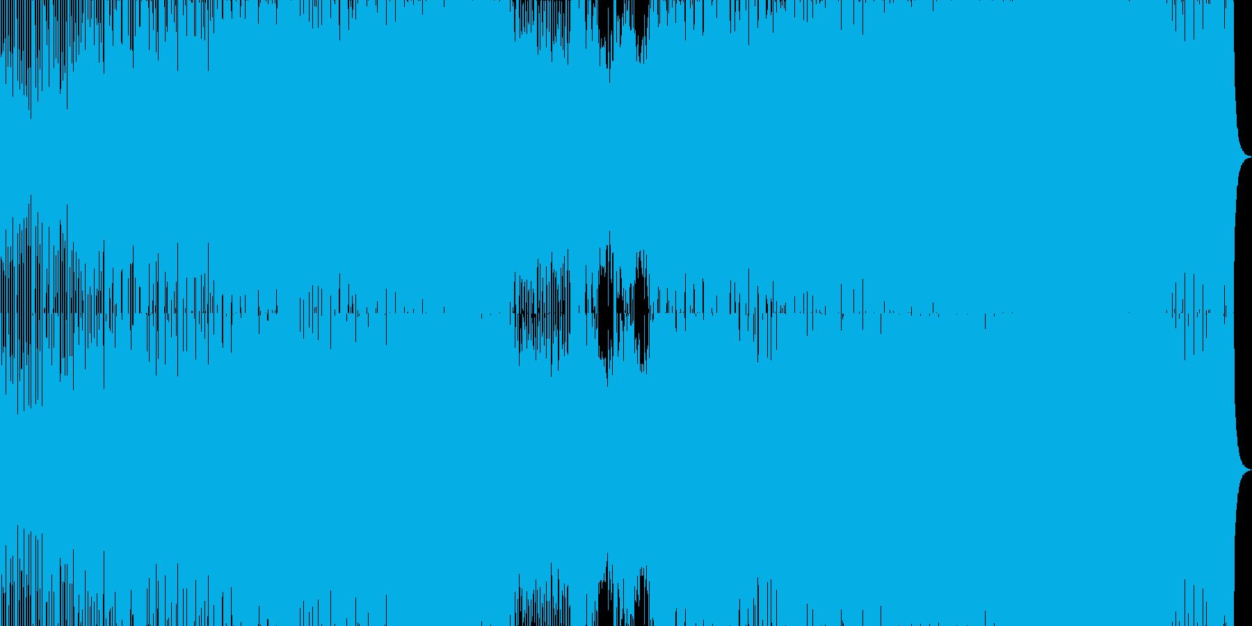 エモーショナルなハウス・トランスサウンドの再生済みの波形