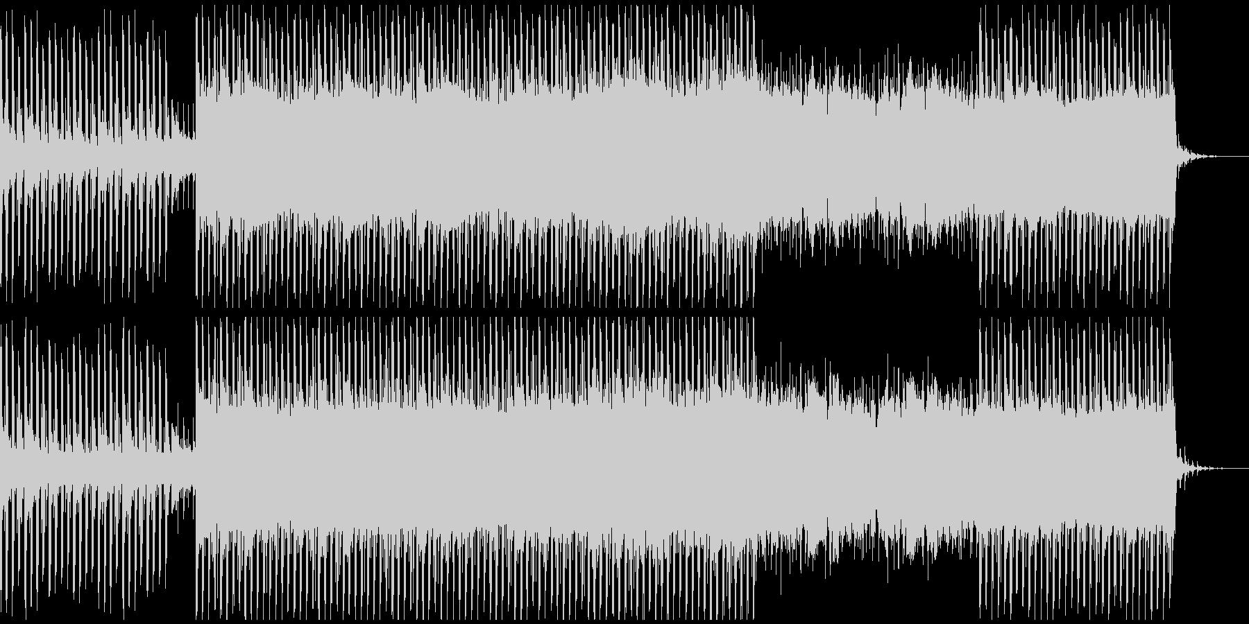 アップビート動機付け音楽(中)の未再生の波形