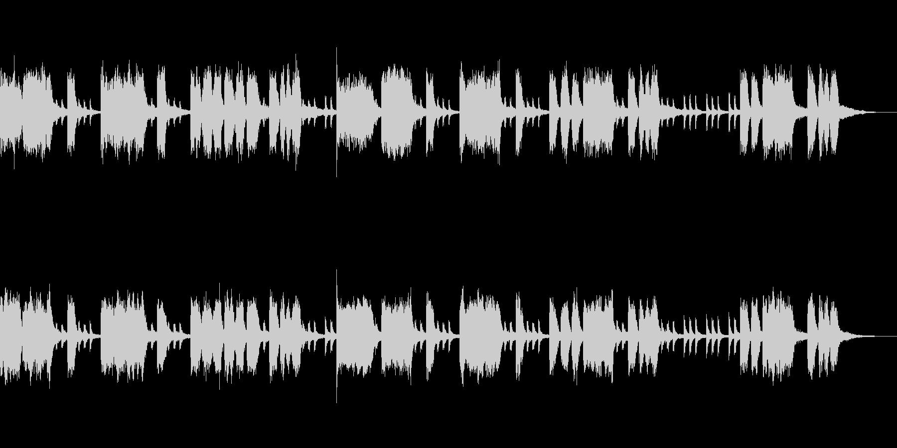 テーマ「おばけ屋敷」20秒の未再生の波形