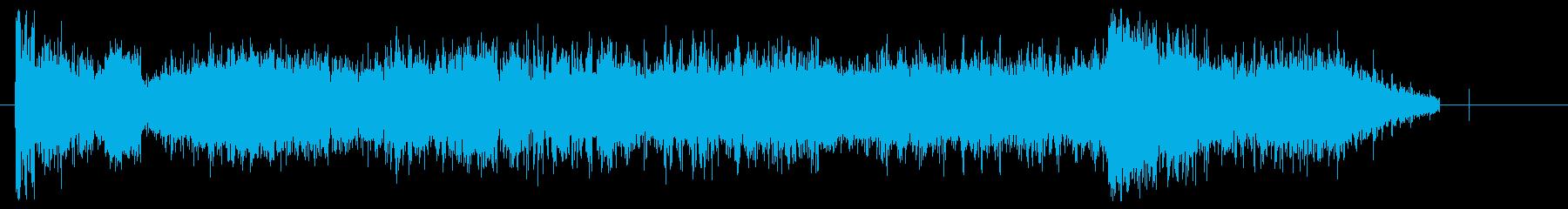 サッカーファンチャンピオンの再生済みの波形