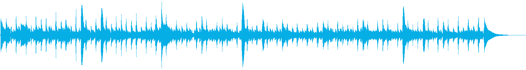 アコギ12/アンビエント、重ね録り、生音の再生済みの波形