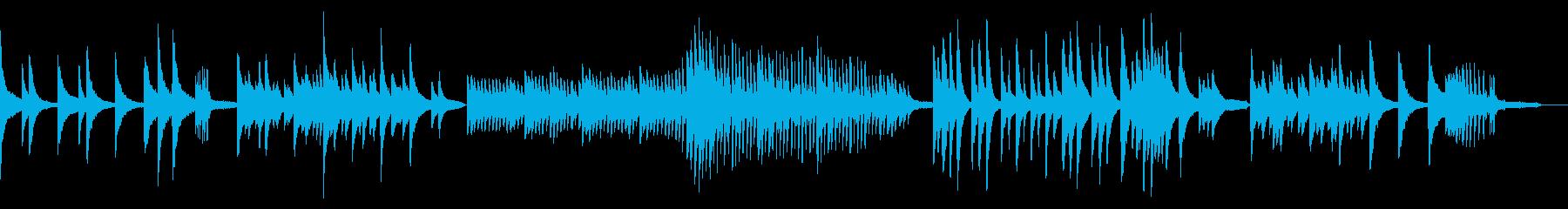 休日にゆっくり聴きたいピアノの再生済みの波形