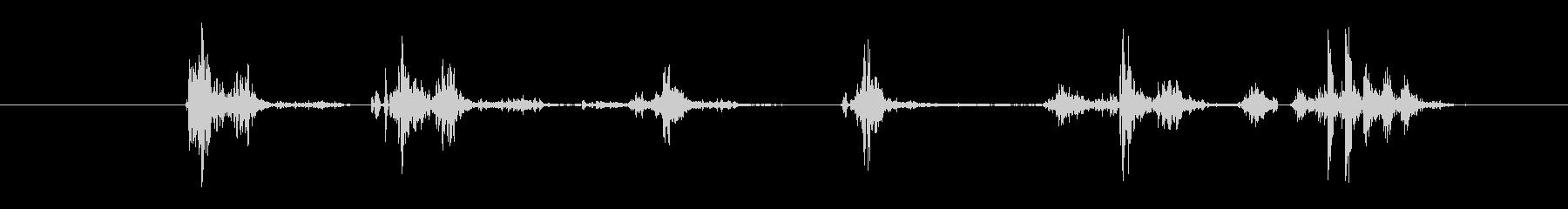 電気機械 小さな電圧スパーク04の未再生の波形