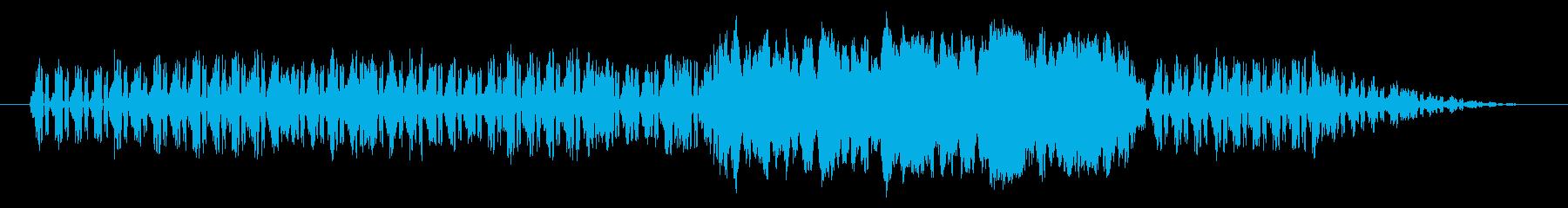 ノスタルジックなオルガン(白黒映画)の再生済みの波形