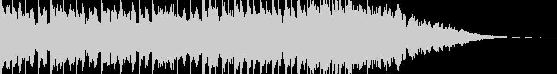 EDMシンセ&ドラムロールビルドアップの未再生の波形