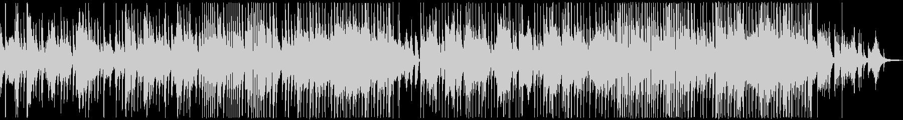 ブルージーなジャズバラードの未再生の波形