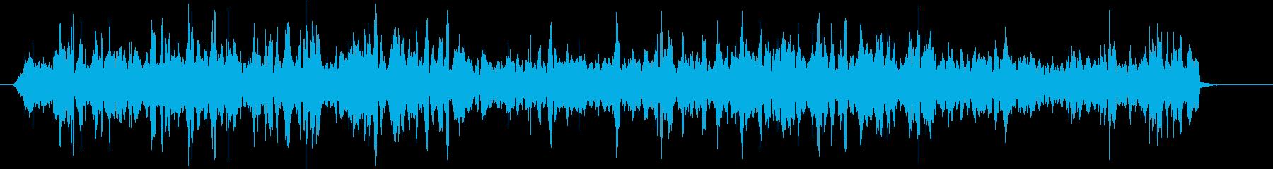 シーン|宇宙からの通信が途絶えた感じ Aの再生済みの波形