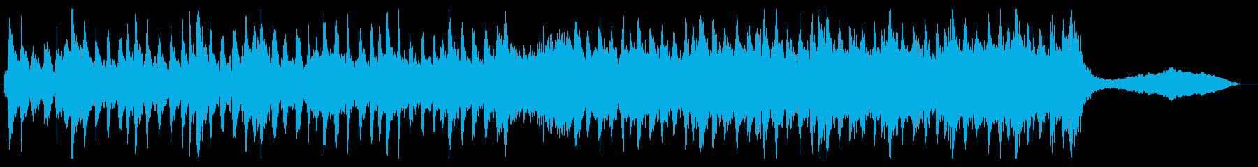 ボス戦BGMのような重厚シンフォニックの再生済みの波形