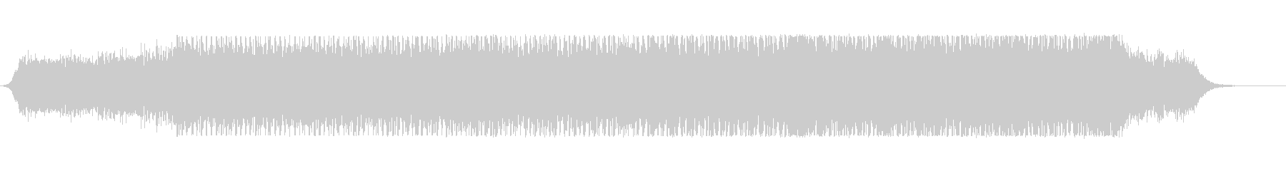 bpm140の不気味な雰囲気のテクノの未再生の波形