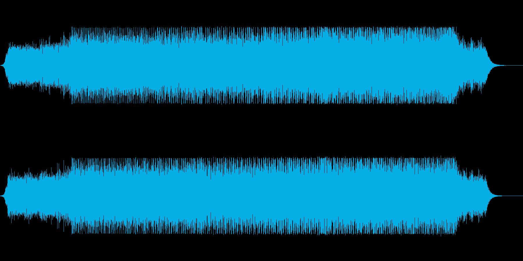 bpm140の不気味な雰囲気のテクノの再生済みの波形