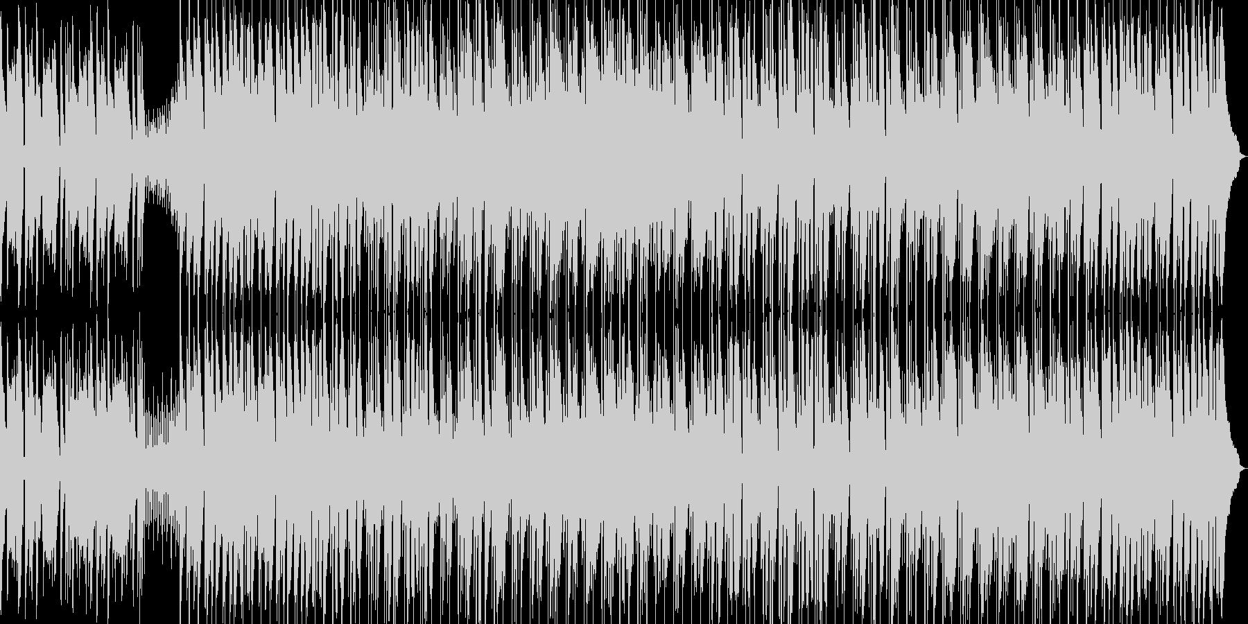 口笛とウクレレ、まったりポップスの未再生の波形