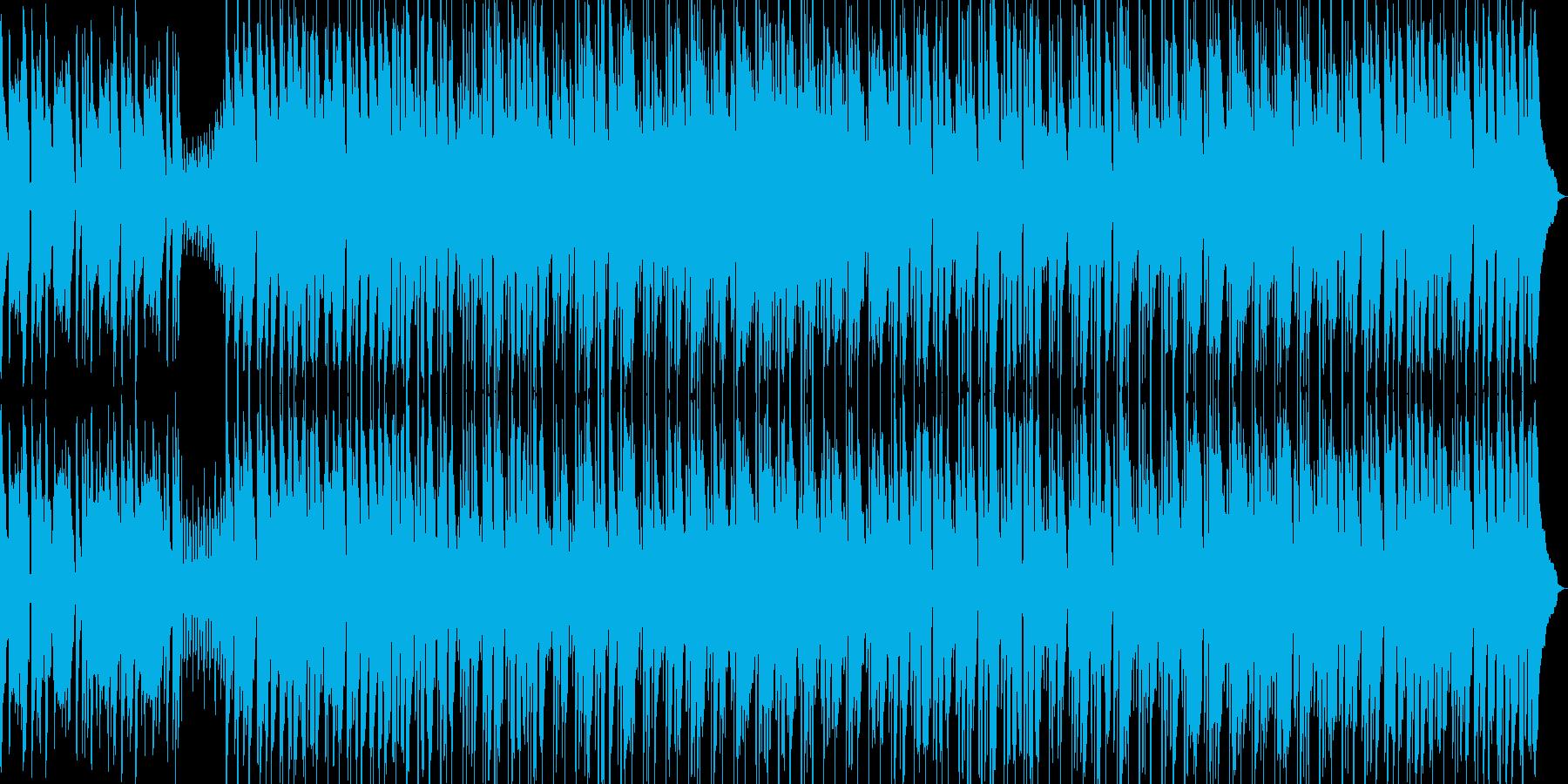 口笛とウクレレ、まったりポップスの再生済みの波形