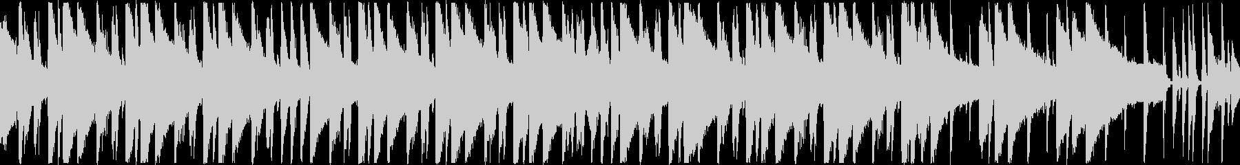 ルージーな印象のピアノポップBGMの未再生の波形