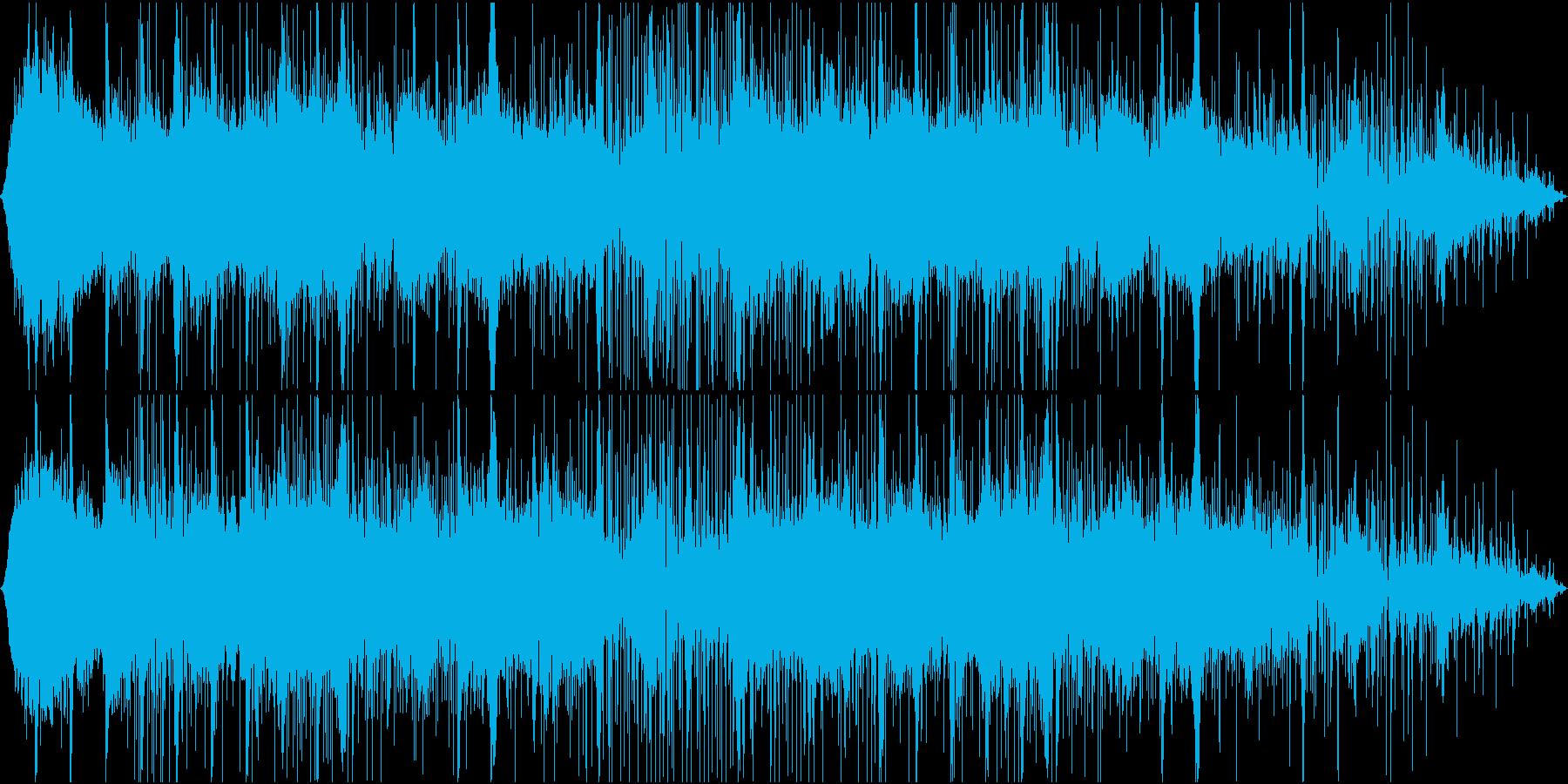 逃走中の雰囲気、緊張感のある音楽の再生済みの波形