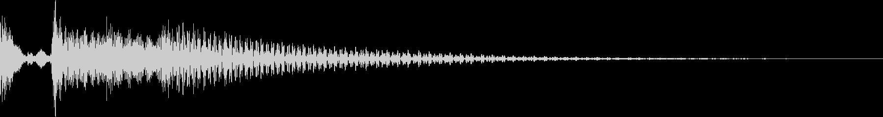 ポロロロン(スワイプ キャンセル 移動)の未再生の波形