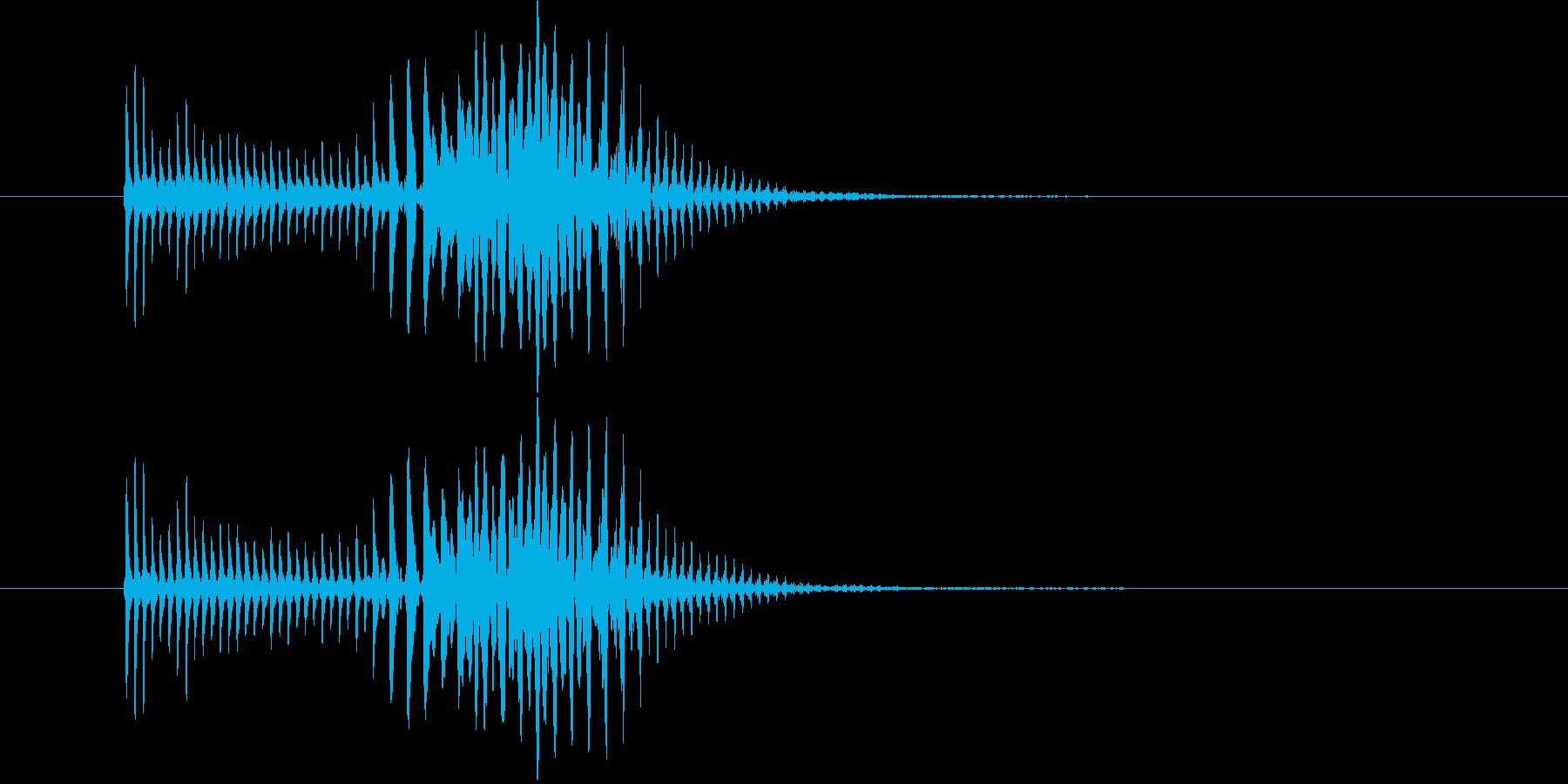パーカッション 口ハープ21の再生済みの波形