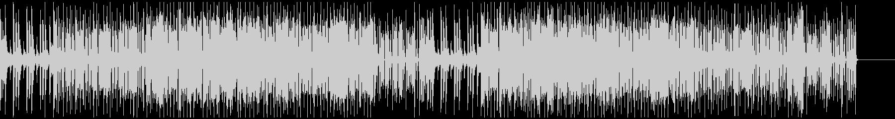 ファンクギターによるグルーブの追求の未再生の波形