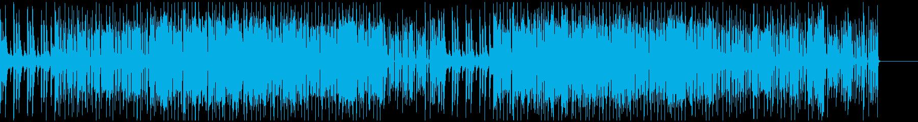 ファンクギターによるグルーブの追求の再生済みの波形