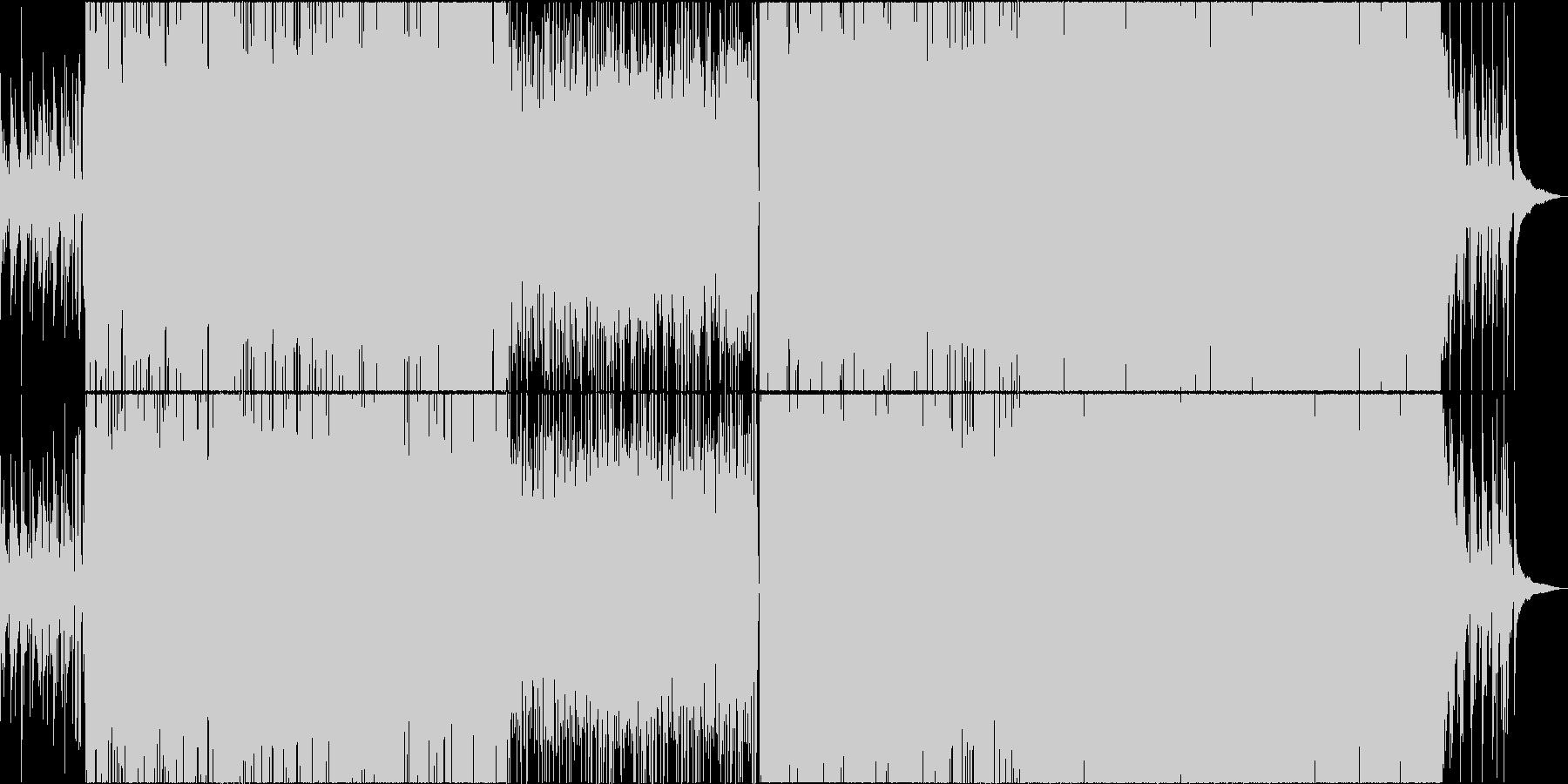 目の覚めるような爽やかギターメロサンバの未再生の波形