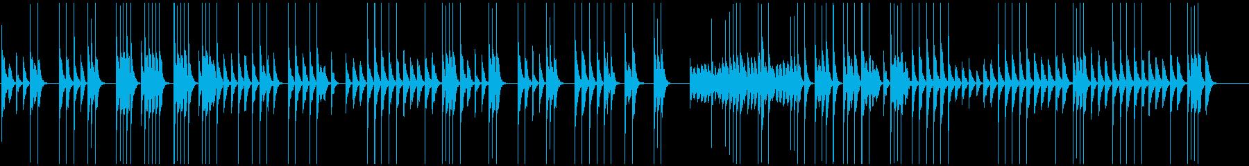 映像向ほのぼのと温かい木琴で素朴懐かしいの再生済みの波形