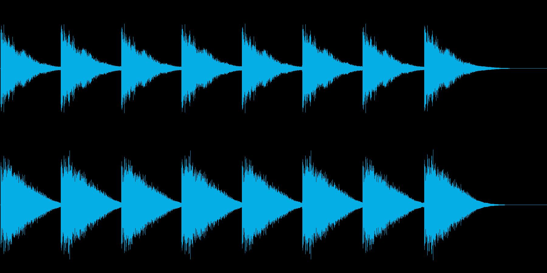 教会の鐘-1-2_delayの再生済みの波形